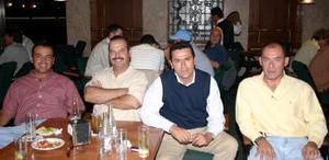 M-Felipe Vallejo, Jaime Díaz, Arturo Dueñes y Alfonso Cabello.
