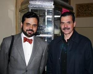 Antonio Vigatá y Heriberto Méndez.