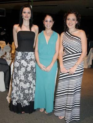 Cecy de Sada, Alejandra de Fernández e Hilda de Córdova