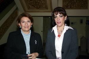 María Teresa Roma y Ana Rosa Anaya.