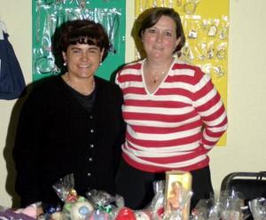 Martha Ramírez y Angélica Alba Viesca.