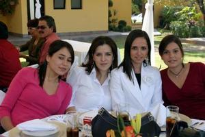Sofía Baille, Caro Jaidar, Cristy Berlanga y Astrid Baille.