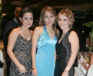 Sofía Ortiz, Alicia Jaime y Miriam Motola.