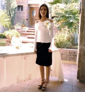 Mary Carmen Alatorre Saracho contraerá matrimonio el 27 de noviembre con Héctor Becerra Flores.