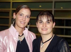 Celina López y Karla García.