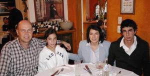 María José Ramos, Javier Ramos, Pita León y Carlos Ramos