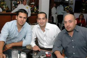 Eduardo Madero, José Eduardo Madero, Jospe Eduardo López y Jairo Soto