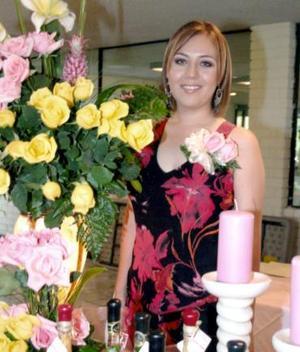 Lic. Grace Reyes Mena disfrutó de una agradable despedida por su próximo enlace matrimonial