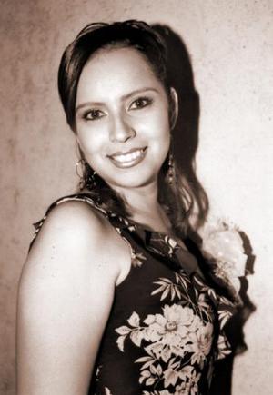 Sandra Ramírez Tovar en su despedida de soltera.