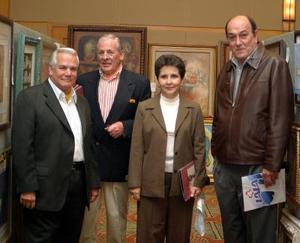 Gonzalo Alatorre, Laurencia de González, Ien Van Der Graaf y Fernando González Lafuente