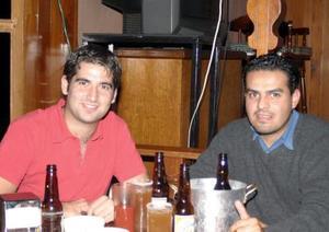 Pedro Gutiérrez y Jorge Ruvalcaba.