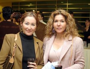 Lulú Velasco y Élida Tirado