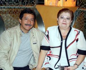 Javier Vallejo y María del Socorro R. de Vallejo