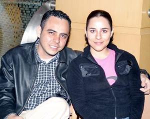 Jesús Alonso y Pilar Moreno