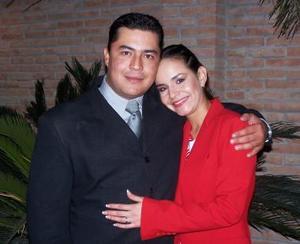 <u><i> 20 de noviembre de 2004</u></i><p> Víctor Valdés y Daniela Martínez Jalife