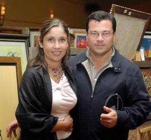 Heriberto Esparza y Marigel Valdéz