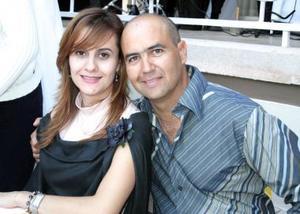 Gerardo Máynez y Nora Porra