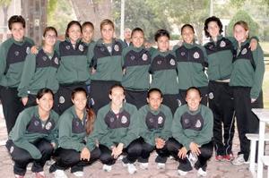 Compañeras de la Selección Mexicana Femenil