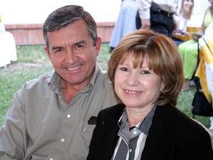 Luis Lauro y Blanca Garza de Rodríguez
