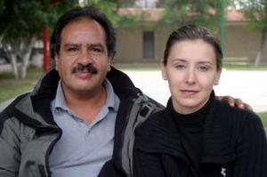 Enrique Rodríguez y Ana Laura Bernal