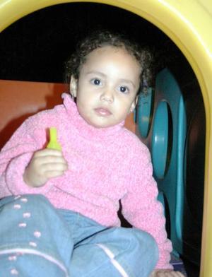 Mariana Urby de la Cruz cumplió tres años de vida