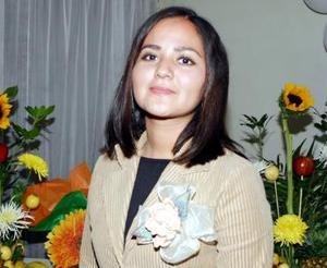 <u><i> 24 de noviembre de 2004</u></i><p> Rosy Molina Valenzuela disfrutó de una fiesta de despedida