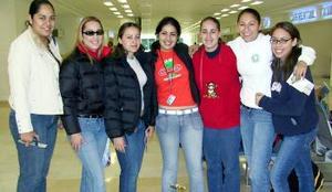Athzai, Paulina, Iliana, Zulay, Karina, Mayra y Melisa viajaron a Tijuana
