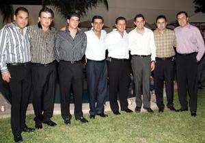 Ramón Franco, Ricardo Zarzar, Yussef Mansur, Nessim Issa, Antonio Juan Marcos, Salomón Abularach, José Antonio Mansur y Roberto Kuri