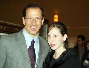 Fernando Cárdenas y su hija Ana