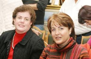 Miren Belausteguigoitia y Carmen López