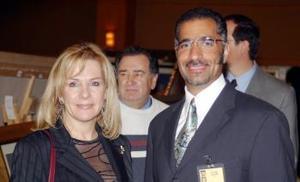 Norman Bardavid y Esther Misrachi