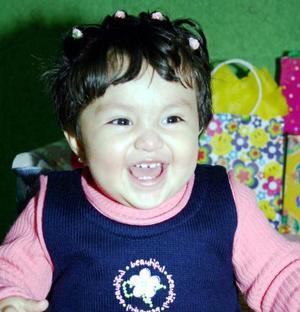 La pequeña Ana Sofía Quintero Galindo cumplió un año de vida.