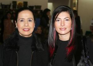 Claudia de Olmos y Elizabeth de Montemayor