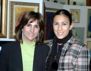Nadia Giacomán y Amira de Jiménez