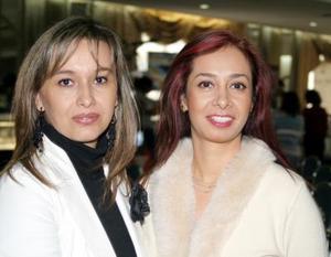 Paty de Álvarez  y Diana de Gavela