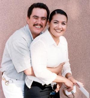 David García y Mireya Méndeza contrajeron matrimonio el 27 de noviembre de 2004