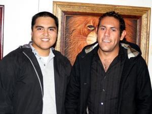 Homero Ramos y Miguel Ángel García.