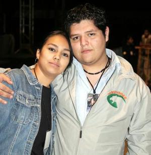Alonso Garay y Jéssica Acevedo.