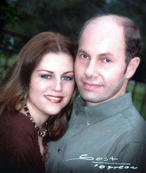 Luis Jorge Murra y su esposa Frida Sosa de Murra.