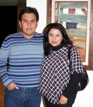 Sandra Chávez y Ray Díaz de León.