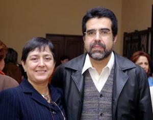 Silvia Patricia y Juan Antonio Torres.
