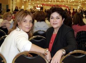 Lupita Flores  y Bertha García