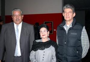 Manuel Ramírez, Rosina de Alvarado y Luis Montfort