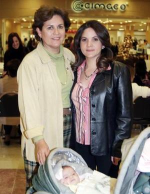 María Elena de Ramos y María Elena de García.