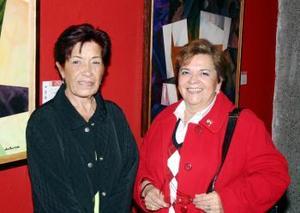 <u><i> 28 de noviembre de 2004</u></i><p> Teresa de Jáuregui y Tere de Sosa.