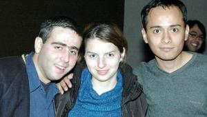 Alejandro Martínez, Fabiola Ramírez y Roberto Heynez.