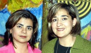 Marcela y Sandra Bollaín Goytia.