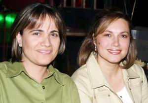 Patricia Verano y Tere Villarreal.