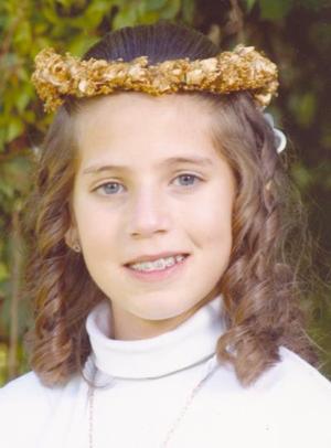 Lorena Dávila, hijita de Guillermo Saldaña Wolf y Lorena Dávila Saldaña