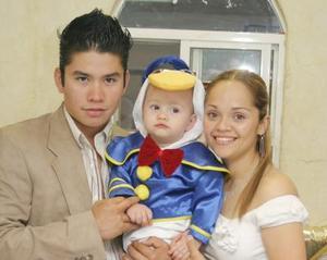 Manuel Alejandro Magaña y Blanca Valdés Magaña festejaron a su niño Diego Alejandro Magaña Valdés por su cumpleaños.